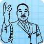 Coloring King - Free Martin Luther King Jr Day Coloring Page