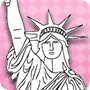 Statue of Liberty - Free 4th of July Coloring Pages for Kids