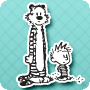 Inseparable Calvin & Hobbes - Summer Activity and Game for 7 Year Olds