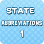 State Abbreviations 1 - Download 5th Grade Social Studies PDF