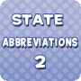 State Abbreviations 2 - Download 5th Grade Social Studies PDF
