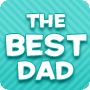 The Best Dad - Printable Writing Worksheet for Father's Day