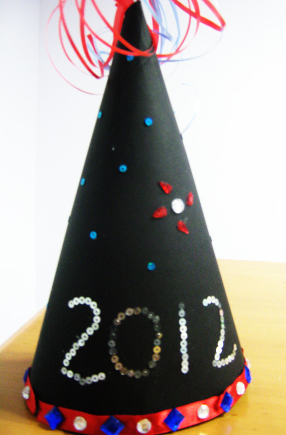 New Year Hat - Crafts for Kids