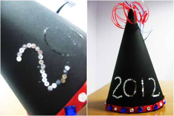 New Year Hat - Easy Party Hats that Kids Can Make
