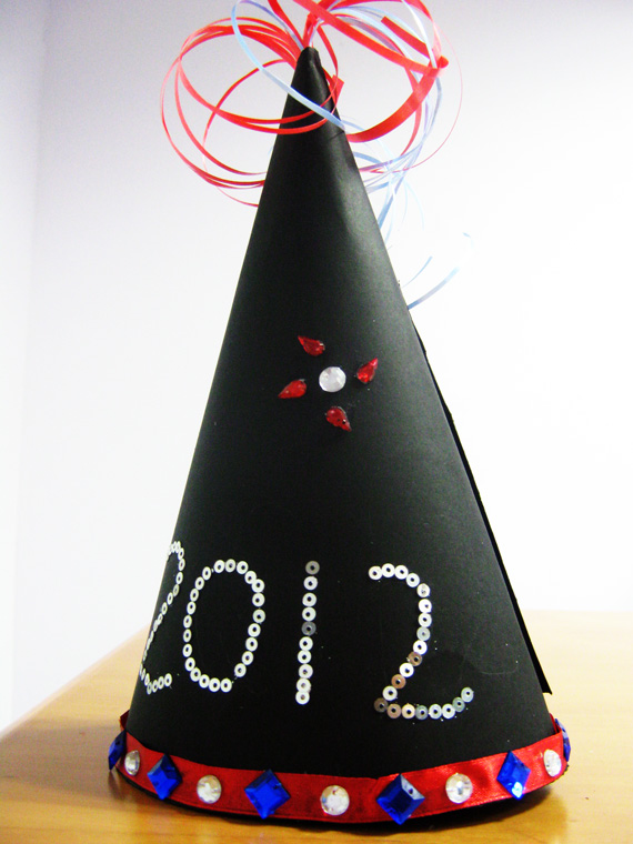 New Year Hat - Fun, Free New Year Crafts for Kids