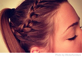 Cute Fast Hairstyles Lovely Simple Braided Bun Updo