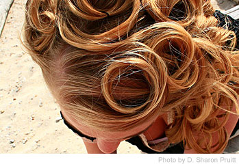 Easy Hairstyles for Moms - Braided Buns