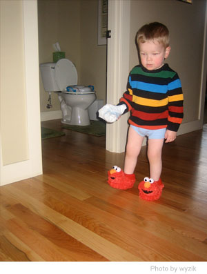 Potty Training the Kids