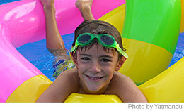 Ideas to get your kids to be active for National Swim a Lap Day