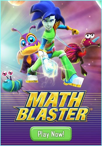 Math Blaster - Free math games for kids