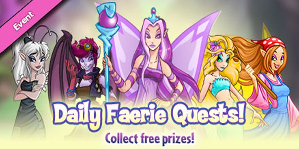 Daily Faerie Quests