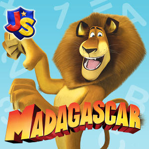 Madagascar Preschool Surf n' Slide - Mobile Game for Kids