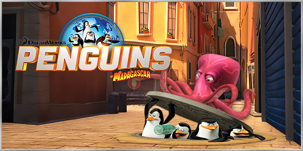 Penguins of Madagascar: Dibble Dash - Mobile Game