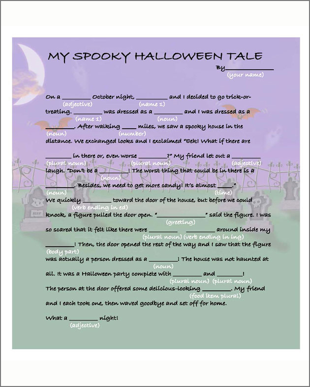 Make Your Own Halloween Tale