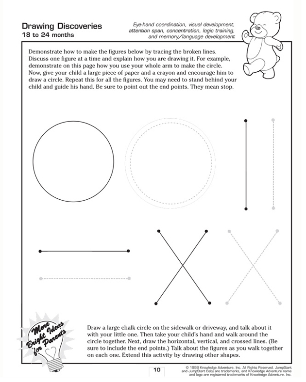 Drawing Discoveries - Fun Activity for Toddlers