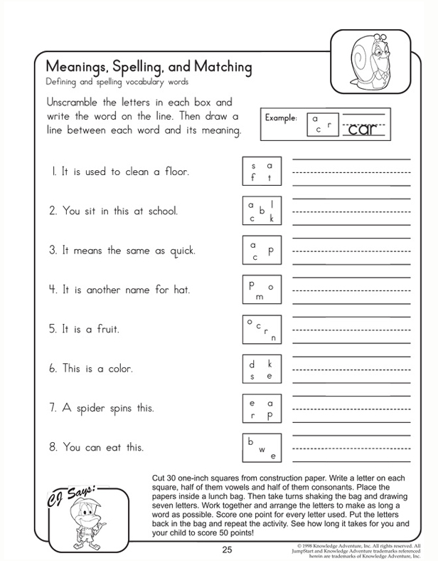 Meanings, Spellings, and Matching
