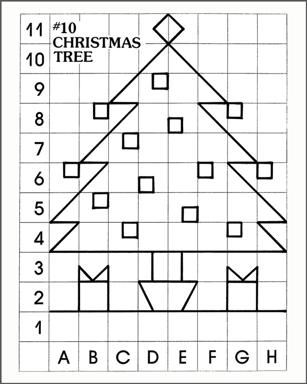 Christmas mystery pictures coloring pages murderthestout for Mystery picture coloring pages