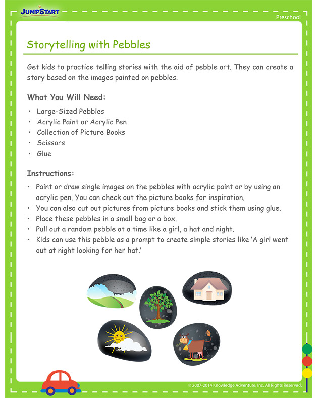 Storytelling with Pebbles