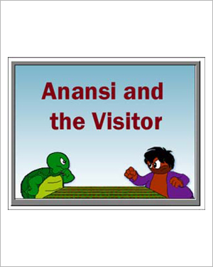 Anansi and the Visitor - Free Short Stories for Kids