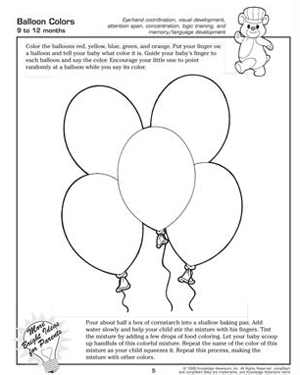 Balloon Colors - Fun, Free Activities for Babies