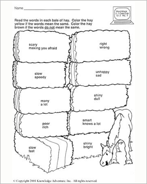 Bart's Apology: Color Me Yellow – English Worksheet for 7 Year ...