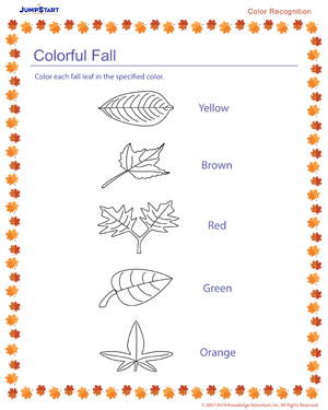 Colorful Fall - Free Fall Resource for Kids
