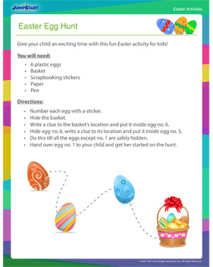 Check out 'Easter Egg Hunt' - Easter Activity Online for Kids