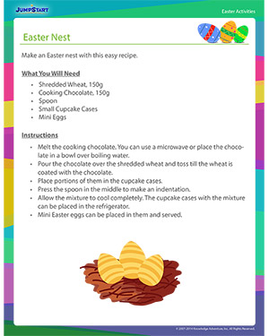 See 'Easter Nest' - Easter Activity Free