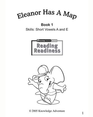 Eleanor Has a Map - Free Reading and Coloring Activity