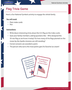 Flag Trivia Game - Helping kids learn about national symbols