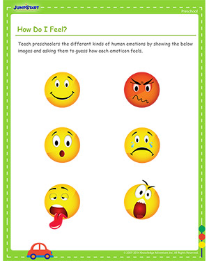 How Do I Feel? - Free Cinco de Mayo activity for Kids