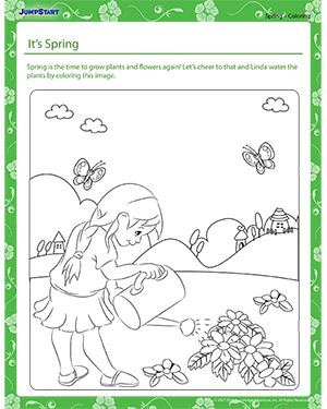 It's Spring! - spring worksheet