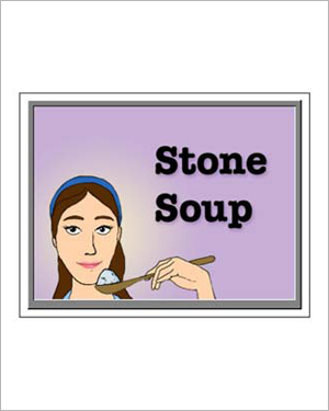 Stone Soup - Free Reading Worksheet for Kids