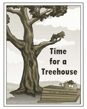 'Time for a Treehouse' - Free Reading Worksheet for Kids