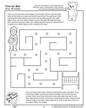 Time for Bed - Fun Activity for Toddlers
