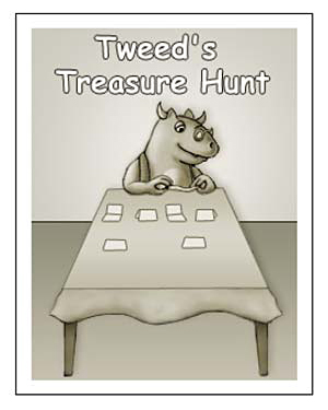 Tweed's Treasure Hunt - Free Kindergarten Reading Worksheet
