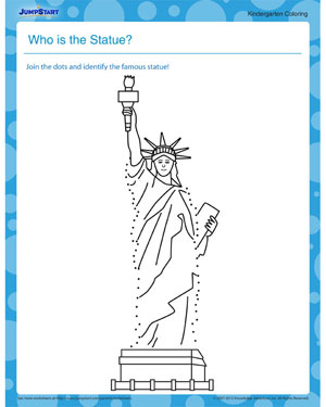 Who is the Statue? - free social studies worksheet for download